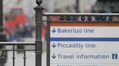 London Piccadilly 4 Stock Footage