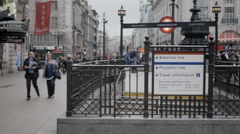 London Piccadilly 3 Stock Footage