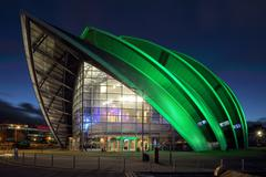 Clyde Auditorium - stock photo