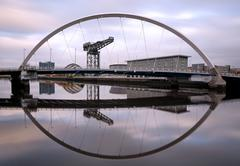 Clyde Arc Bridge Stock Photos