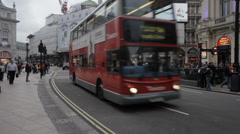 London Piccadilly 6 Stock Footage