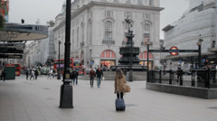London Piccadilly 1 Stock Footage