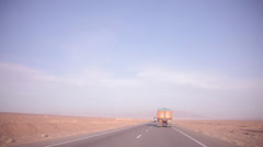 Highway Trucks Stock Footage