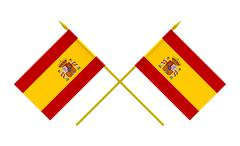 Stock Illustration of flags, spain