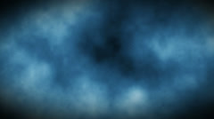 Abstract loop motion background, cloud and particle element Stock Footage