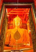 Buddha trai rattana nayok Stock Photos