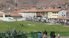 Cusco open space c - stock footage