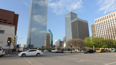 Downtown Dallas Bus Station 6825 Stock Footage