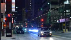Downtown Dallas Night 6849 Stock Footage