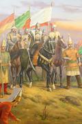 Battle of mohacs, 1526 Stock Illustration
