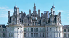Chateau de Chambord - Chambord France Stock Footage