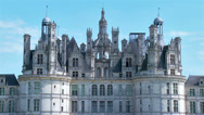 Stock Video Footage of Chateau de Chambord - Chambord France