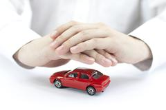 Protect your car - stock photo