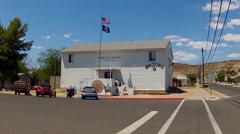 American Legion Post Number 14- Kingman Arizona Stock Footage
