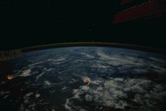 NASA ship Stock Footage