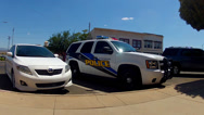 Stock Video Footage of New Police Cruiser SUV- Kingman Arizona