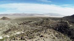 Aerial View Of The Mohave Desert Stock Footage