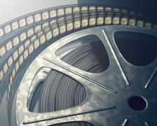 Film Roll Stock Illustration