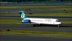 Stock Video Footage of Airtran Airlines Boeing 717