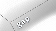 Stock Video Footage of Growing chart graphic animation, Gap.