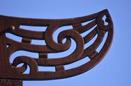 Stock Photo of maori  culture - wood curving
