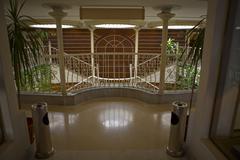 Nile cruiser hall Stock Photos