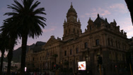 Stock Video Footage of Capetown City Hall