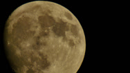 Stock Video Footage of Moon LM24 Telescope Shot