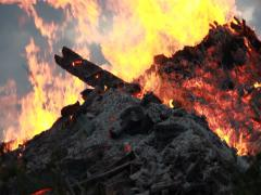 Big Fire Elements - Scorched Earth 008 - stock footage