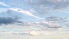 Compositing Elements and Backgrounds - Clean Clouds Stock Footage