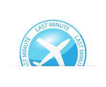 last minute - stock illustration