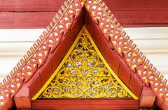 gable detail - stock photo