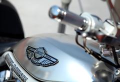 Harley-Davidson logo - stock photo
