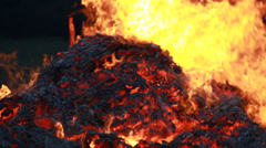 Big Fire Elements - HellFire 003 - stock footage