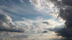 Compositing Elements and Backgrounds - God Clouds Stock Footage