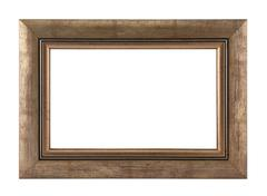 Picture frame with clipping path Stock Photos