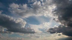 Compositing Elements and Backgrounds - God Clouds 002 Stock Footage