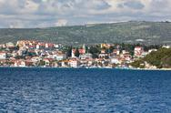 Stock Photo of rogoznica, croatia view from the sea
