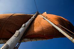 felucca mast - stock photo