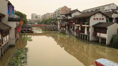 Qibao Canal 3 30 Stock Footage