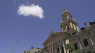Stock Video Footage of Capetown City Hall,South Africa