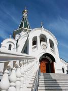 church of st. alexander nevsky - stock photo