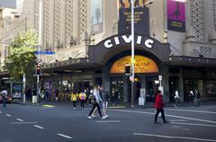 Auckland civic theatre Stock Photos