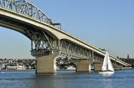Stock Photo of auckland harbour bridge - new zealand