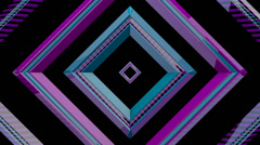 Sound Rhomb Shapes 05 Stock Footage