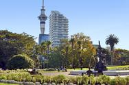 Stock Photo of albert park auckland - new zealand