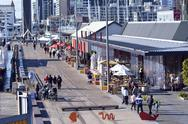 Stock Photo of wynyard quarter auckland - new zealand