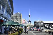 Stock Photo of auckland waterfront  - new zealand