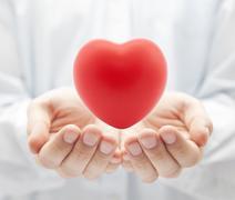 Health insurance or love concept Stock Illustration
