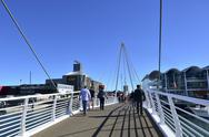 Stock Photo of wynyard crossing auckland new zealand
